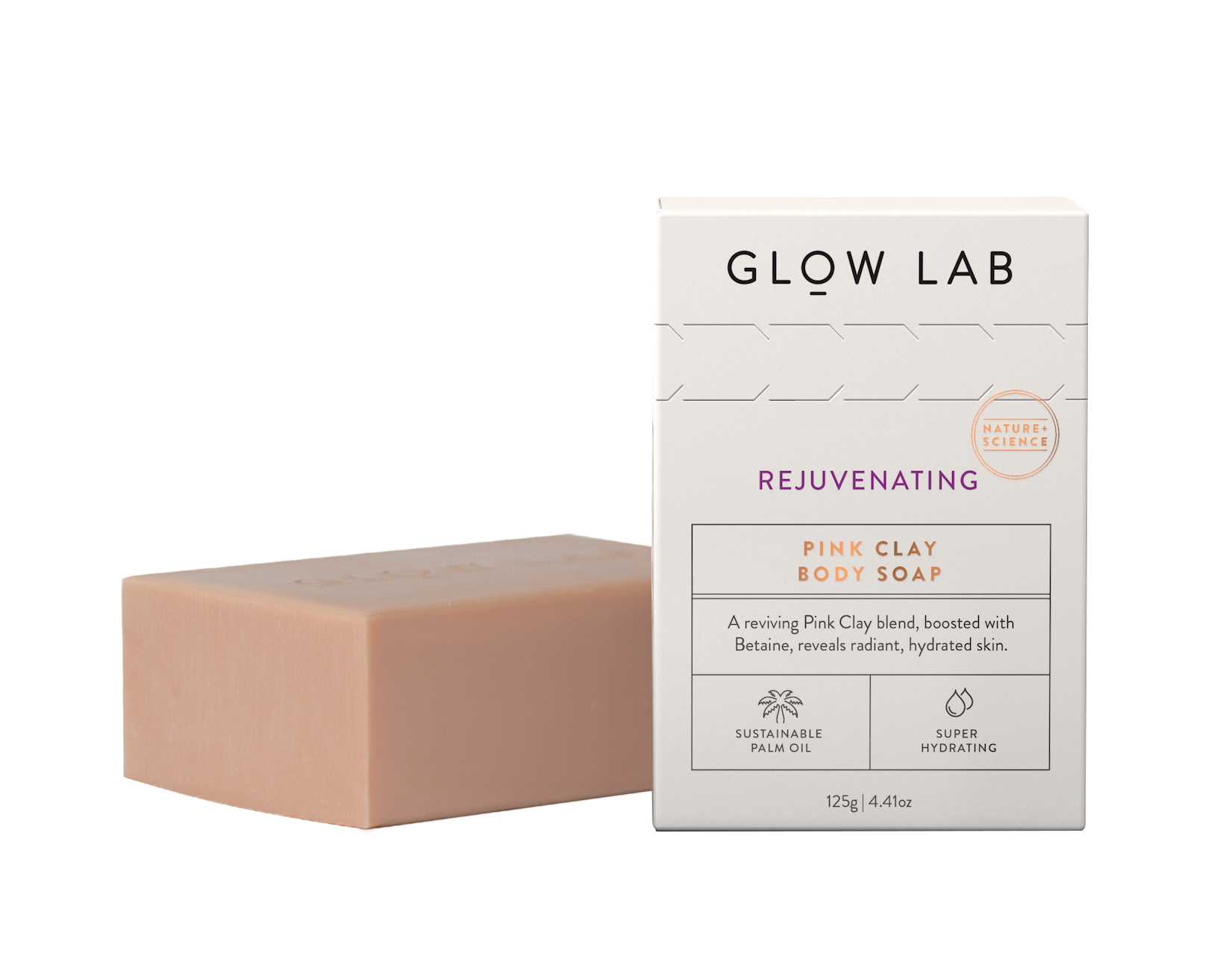 Pink Clay Body Soap